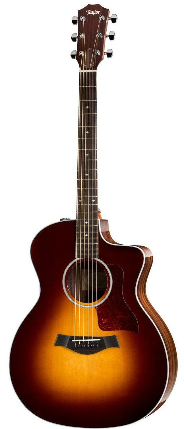 Taylor 214ce Deluxe SB Grand Auditorium ES2 Acoustic/Electric Guitar - Sunburst