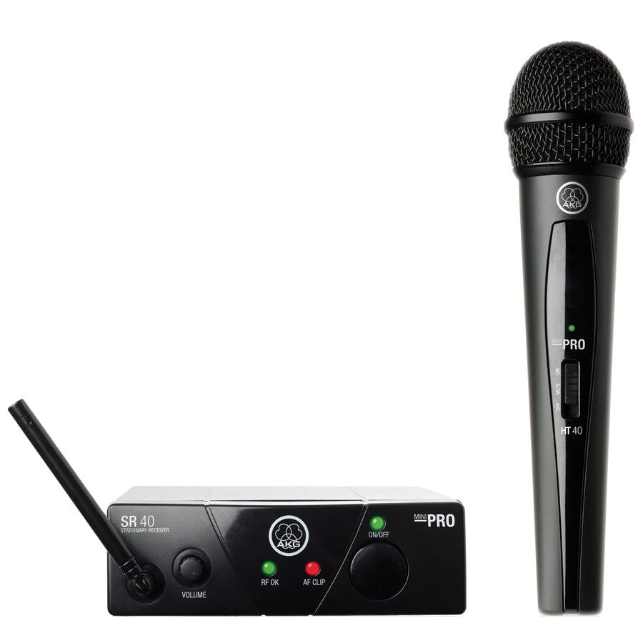 AKG WMS40 Vocal Set Handheld Fixed Frequency Wireless System