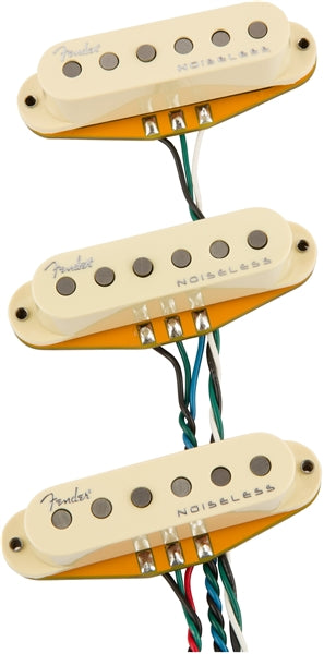 Fender Gen 4 Noiseless Stratocaster Pickups - 3 Pack