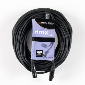 Accu-Cable AC5PDMX100 5 Pin DMX Cable - 100 Feet