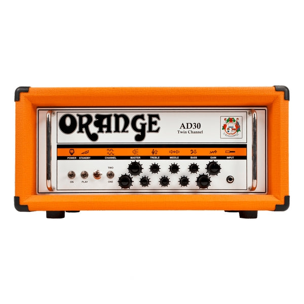 Orange AD30H 30W Guitar Amp Head - Orange