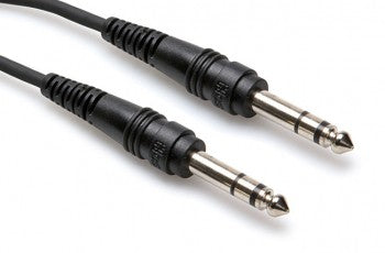 "Hosa CSS-115 15' 1/4"" TRS - 1/4"" TRS Straight Cable - 15ft"