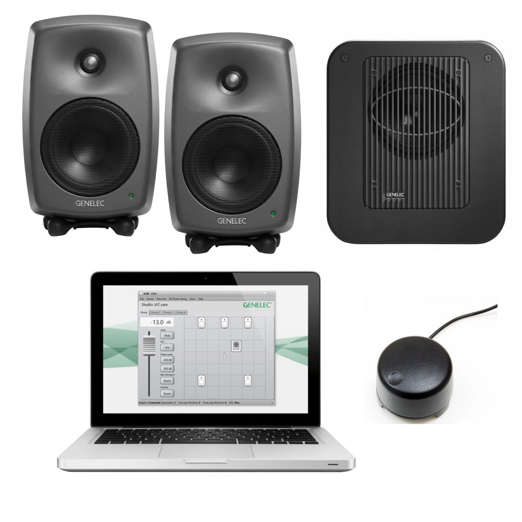 Genelec 8330.LSE Triple SAM Series Monitor Package