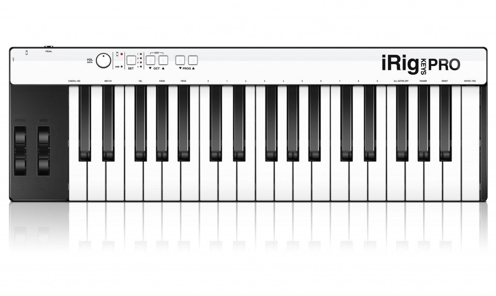 IK Multimedia iRig Keys Pro Keyboard Controller