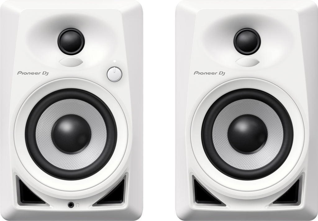 Pioneer DM-40 Desktop Monitor Speaker (Pair) - White