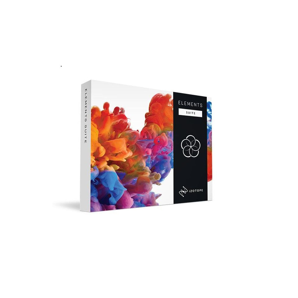 iZotope Elements Suite Software Bundle