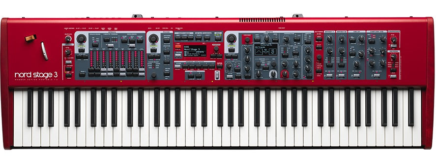 Nord Stage 3 HP76 76 Key Hammer Action Stage Piano / Synthesizer