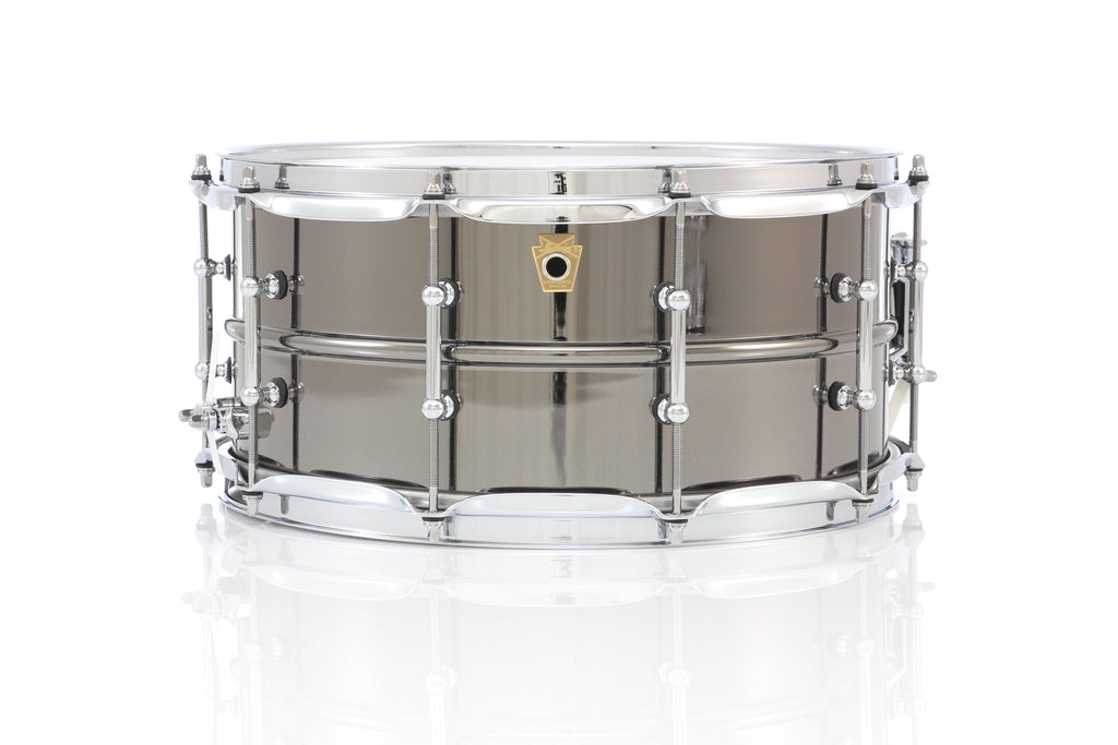 "Ludwig 14"" x 6.5"" Black Beauty Snare Drum - Tube Lugs"
