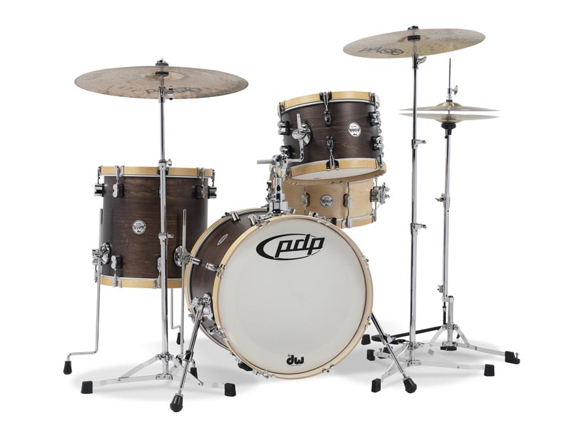PDP Concept Maple Classic Bop Shell Kit - Walnut W/ Natural Hoops