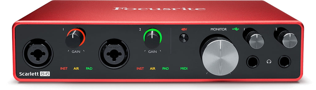 Focusrite Scarlett 8i6 Audio Interface - 3rd Gen