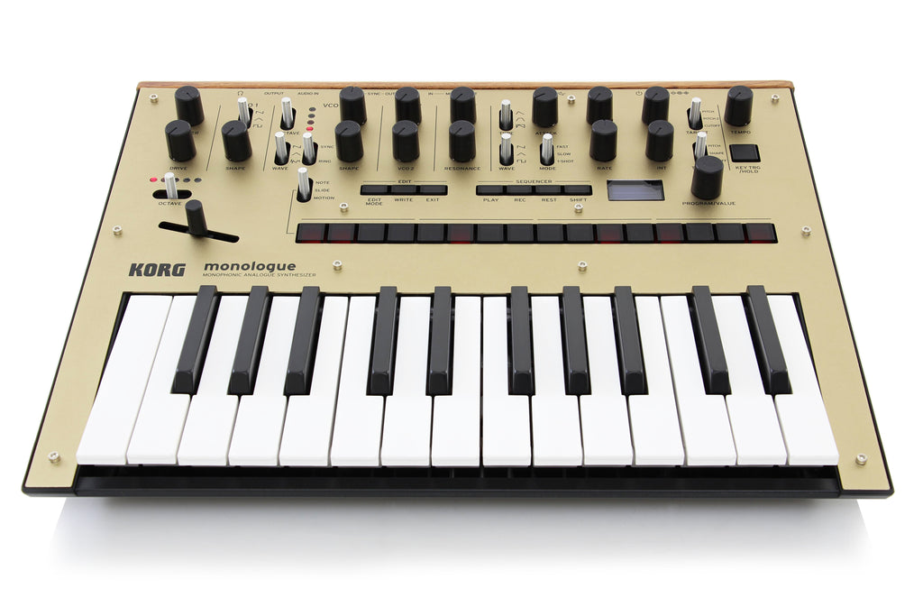 korg monologue monophonic analogue synthesizer gold chuck levin 39 s. Black Bedroom Furniture Sets. Home Design Ideas