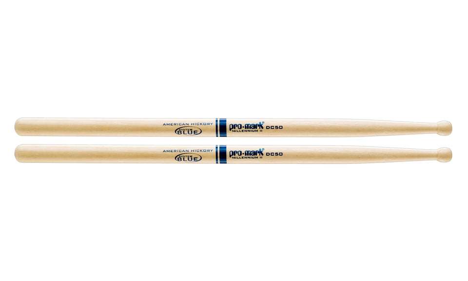 Promark TXDC50W Hickory DC50 Wood Tip drumstick