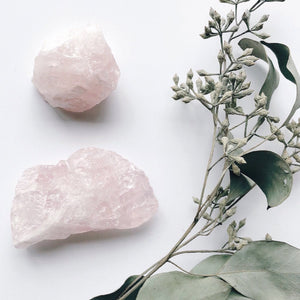 Rose Quartz Nugget or Point