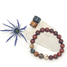 Rosewood & Stone Diffuser Bracelet