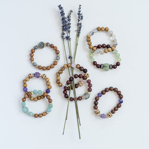 Gemstone Diffuser Bracelet Collection - QTY 8
