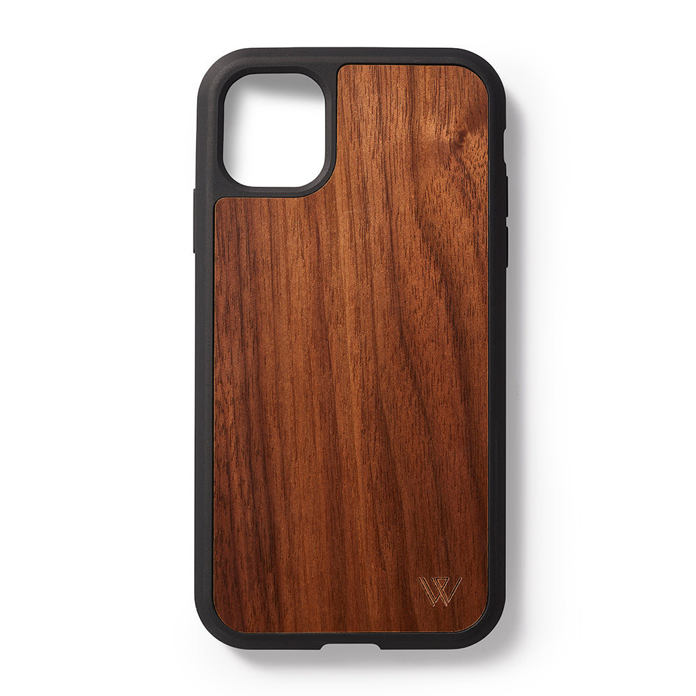 Back case iPhone 11 Pro Walnoten - Woodstylz