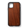 Back case iPhone 11 Walnoten - Woodstylz