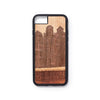 Wooden Iphone 6,7 and 8 back case house design - Woodstylz
