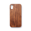 Wooden Iphone X back case walnut - Woodstylz