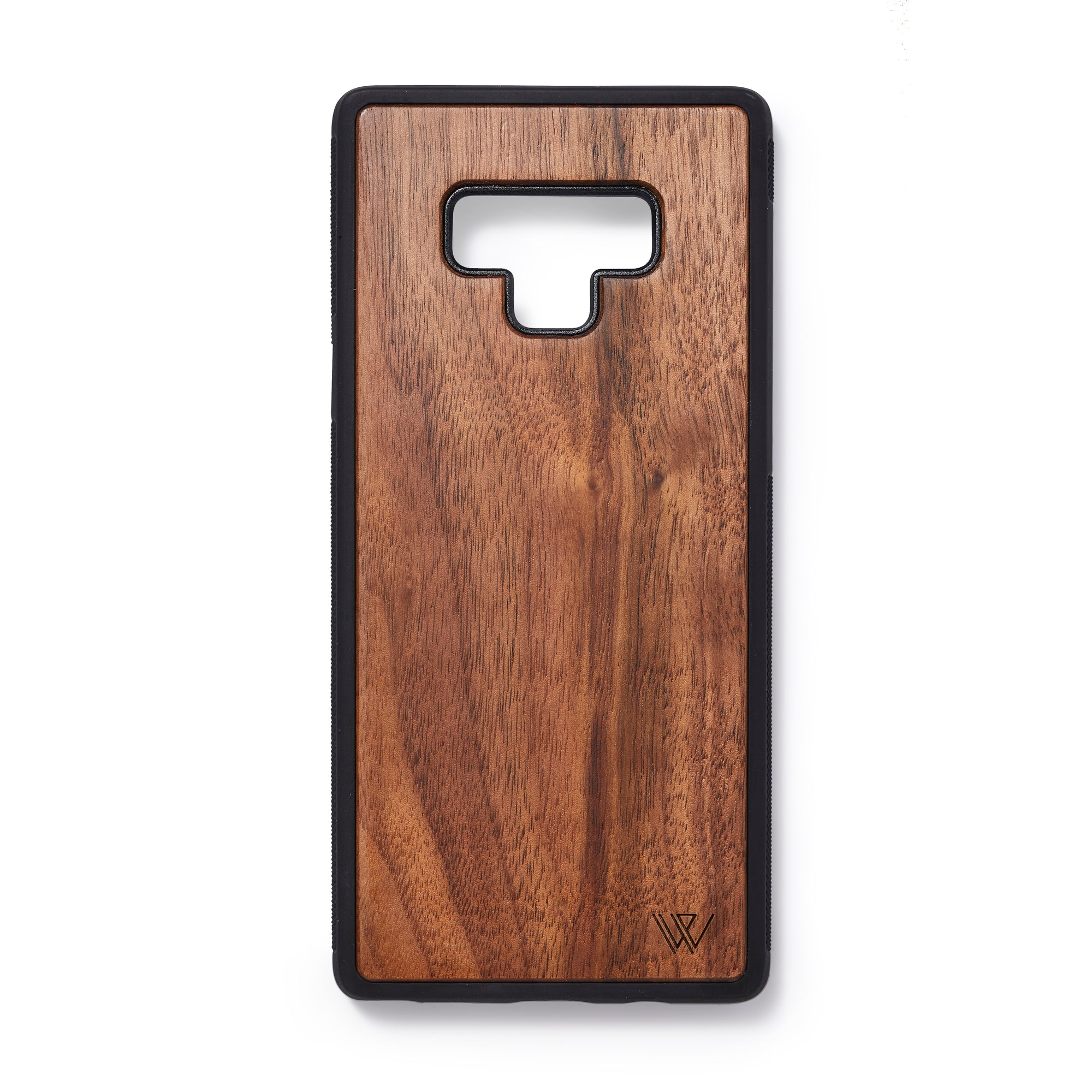 Wooden back case Samsung Note 9 walnut - Woodstylz