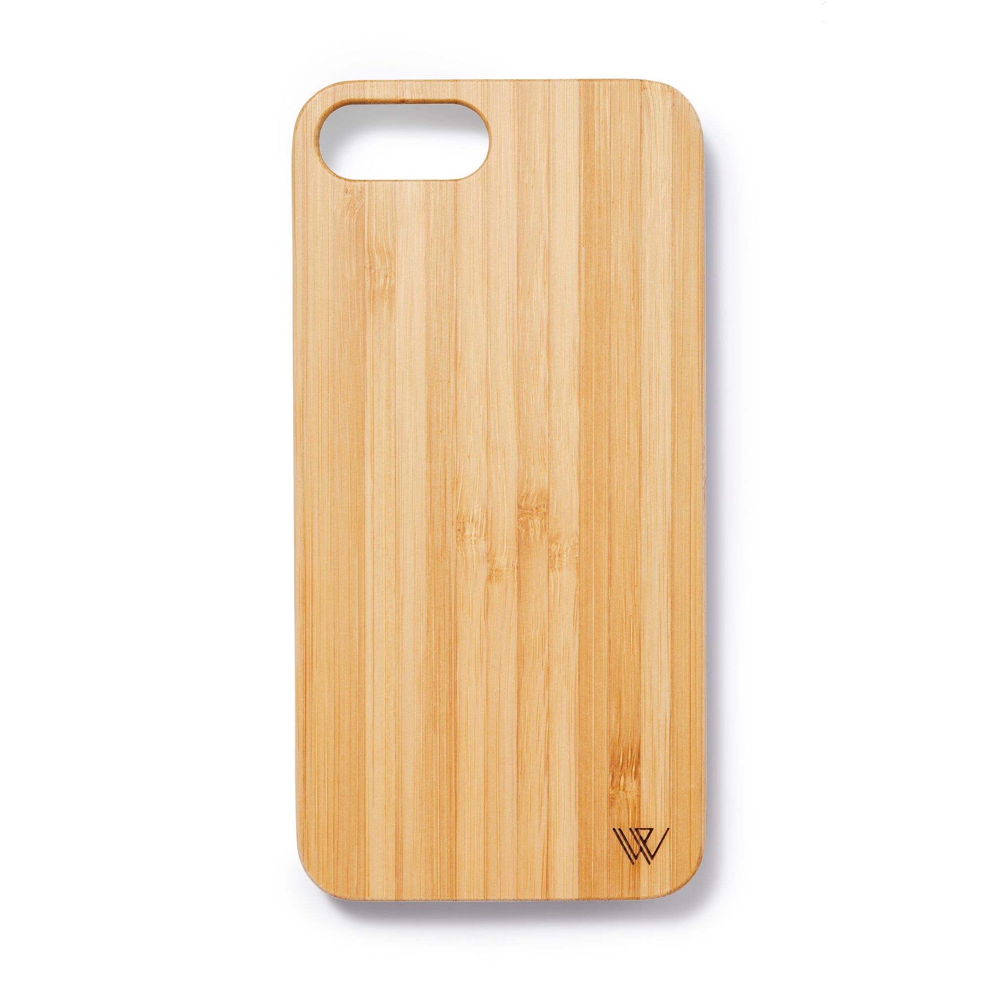 Wooden Iphone 6,7 and 8 plus back case bamboo - Woodstylz