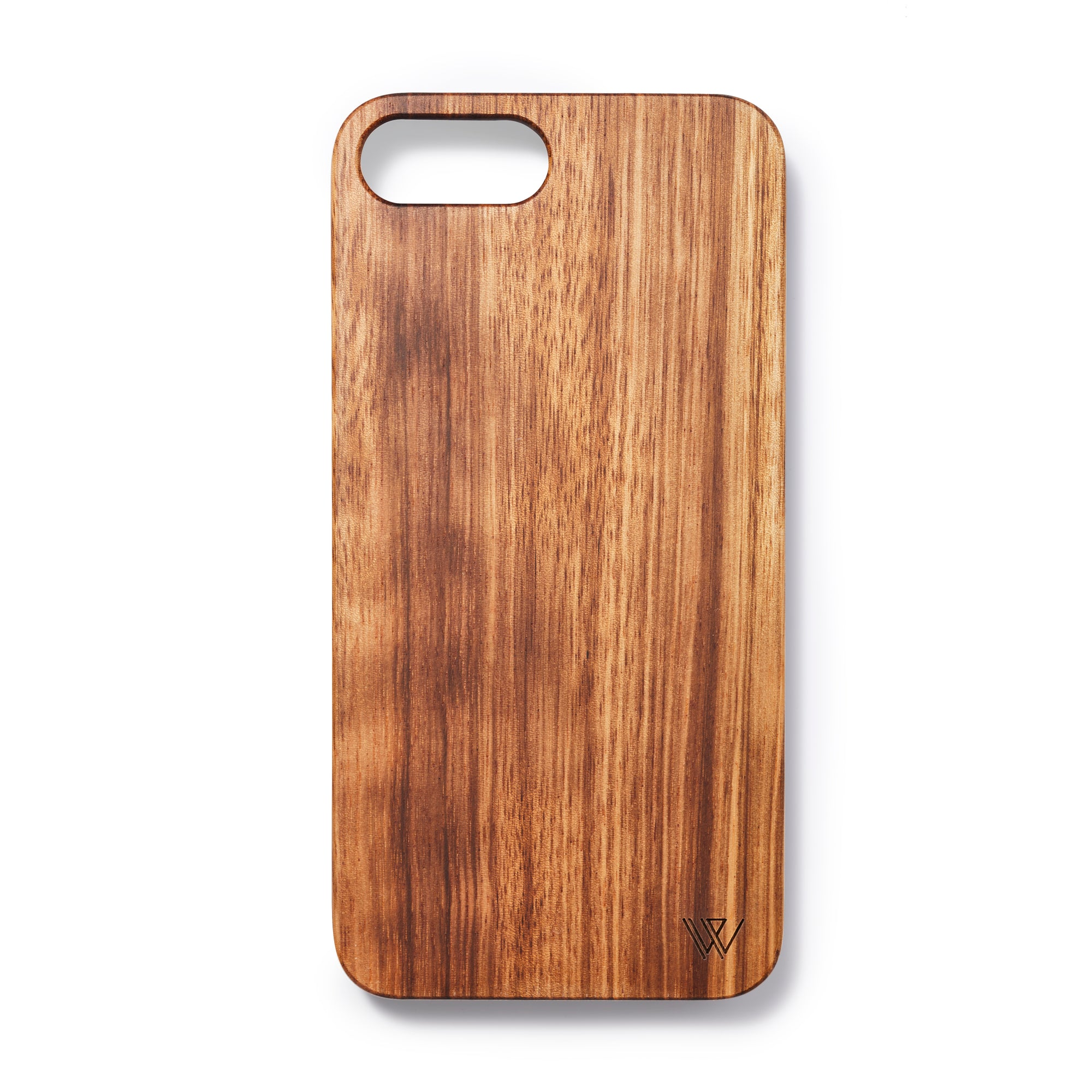 Wooden Iphone 6,7 and 8 plus back case zebrano - Woodstylz