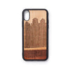 Wooden Iphone X back case house design - Woodstylz