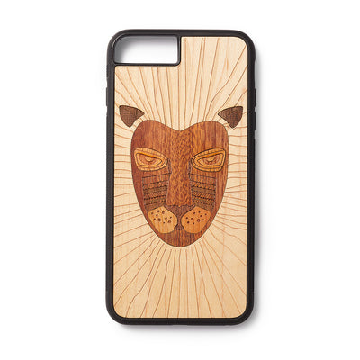 Back case iPhone 6, 7 en 8 plus Lion