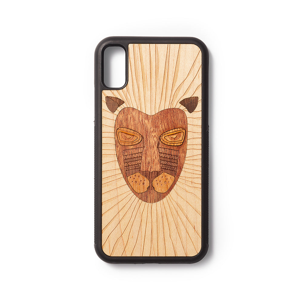 Back case iPhone X en XS Lion