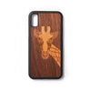 Back case iPhone X en XS Giraffe