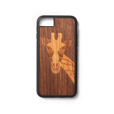 Back case iPhone 6,7,8 en SE 2020 Giraffe