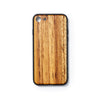 Wooden Iphone 7 and 8 back case zebrano slimfit - Woodstylz