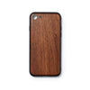 Wooden Iphone 7 and 8 back case walnut slimfit - Woodstylz