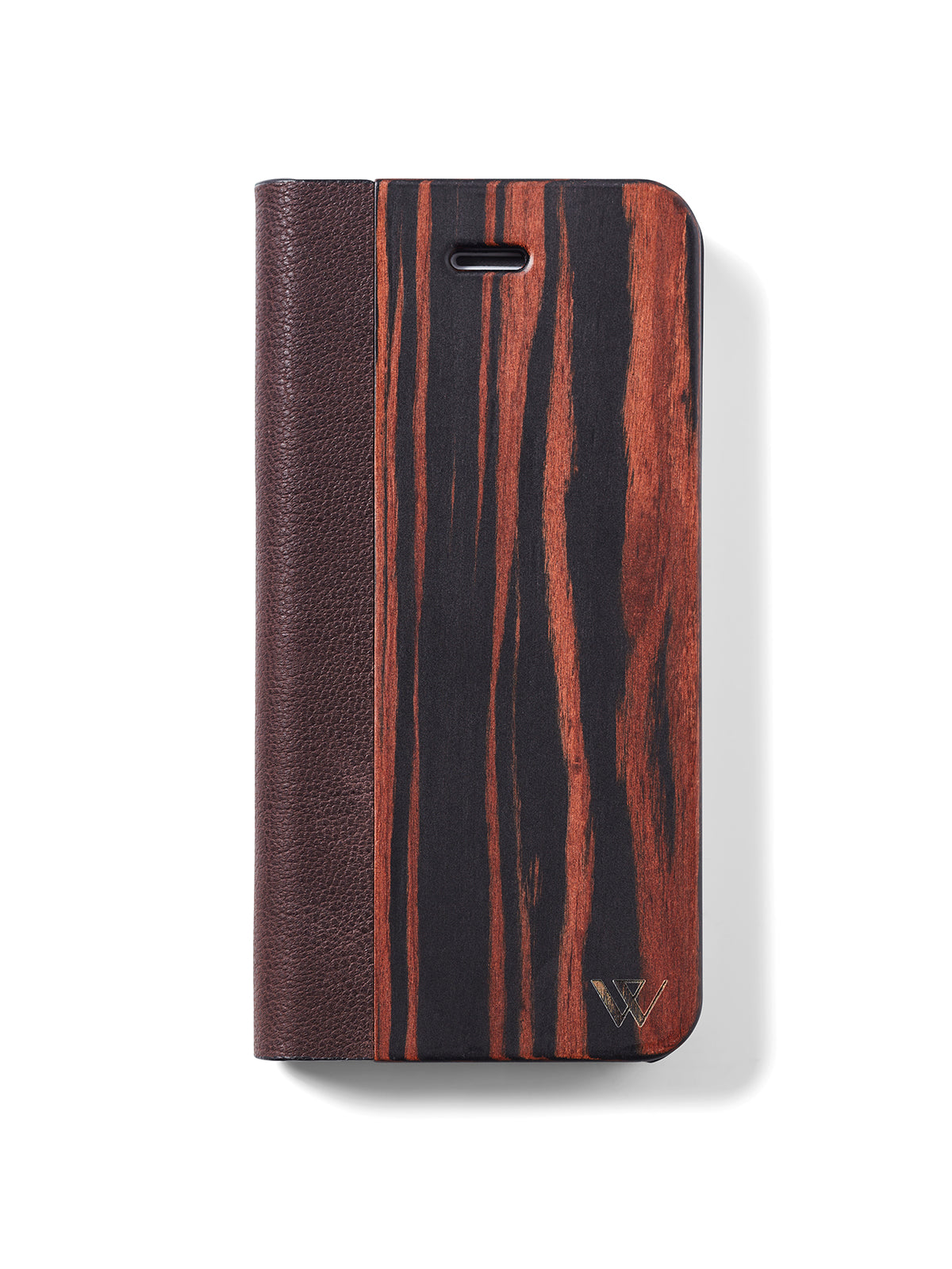 Houten flip case iPhone 6/6s/7/8 - Woodstylz
