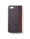 Houten flip case iPhone 5 - Woodstylz
