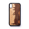 Wooden Iphone XR back case Amsterdam - Woodstylz