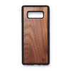 Wooden back case Samsung Note 8 walnut - Woodstylz