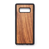 Wooden back case Samsung Note 8 zebrano - Woodstylz