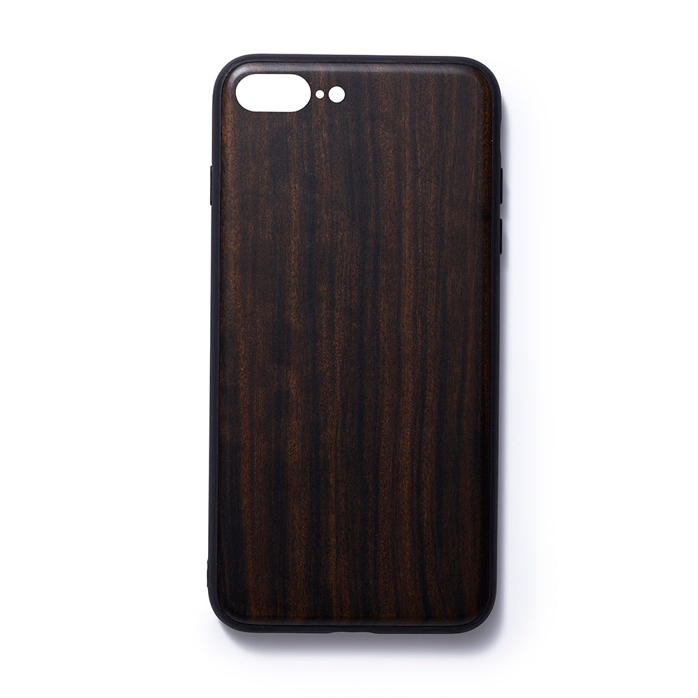 Wooden Iphone 6,7 and 8 plus back case sandalwood slim fit - Woodstylz