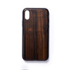 Wooden Iphone X slim fit back case sandalwood - Woodstylz