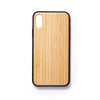 Wooden Iphone X slim fit back case bamboo - Woodstylz