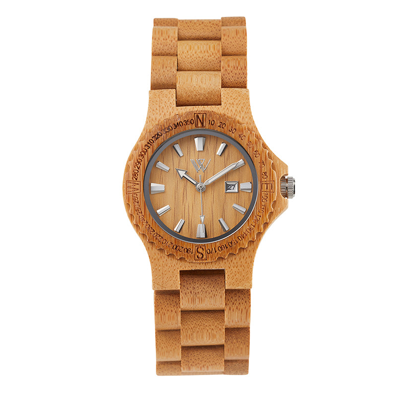 Wooden Watch Bamboo medium - Woodstylz
