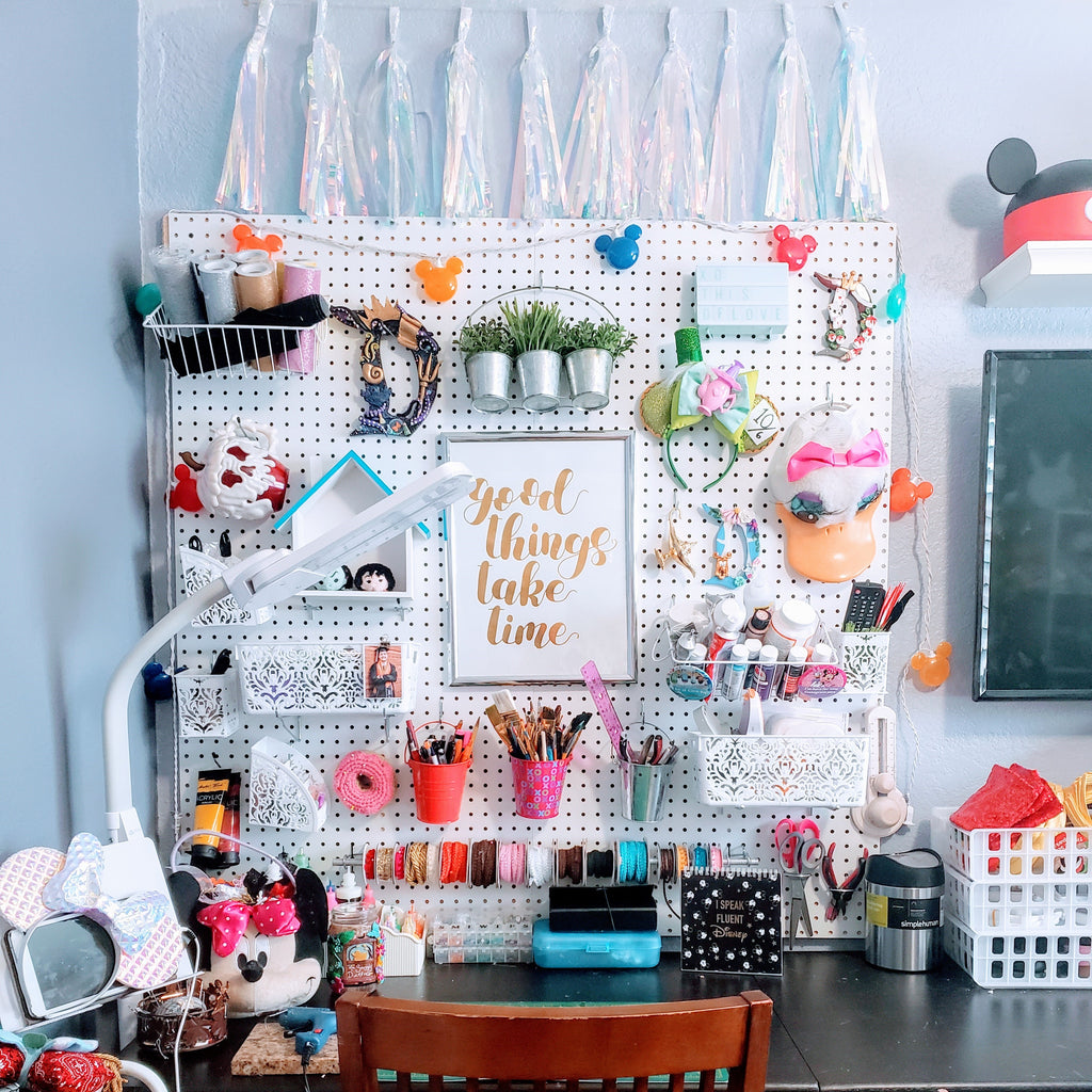 My Pinterest Inspired Craft Room