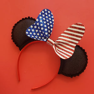 Patriotic Bowtique Ears
