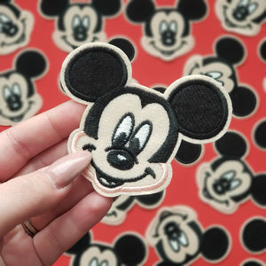 Mickey Mouse Iron On Patch