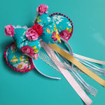 Enchanted Princess Puffy Bow Mock-up