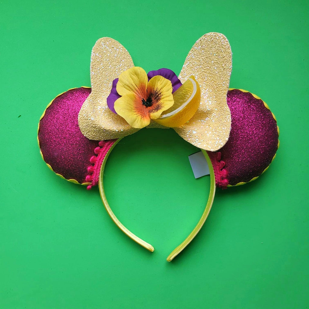 Violet Lemonade Bowtique Bow