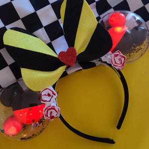 Queen of Painted Roses Balloon Light Up Ears