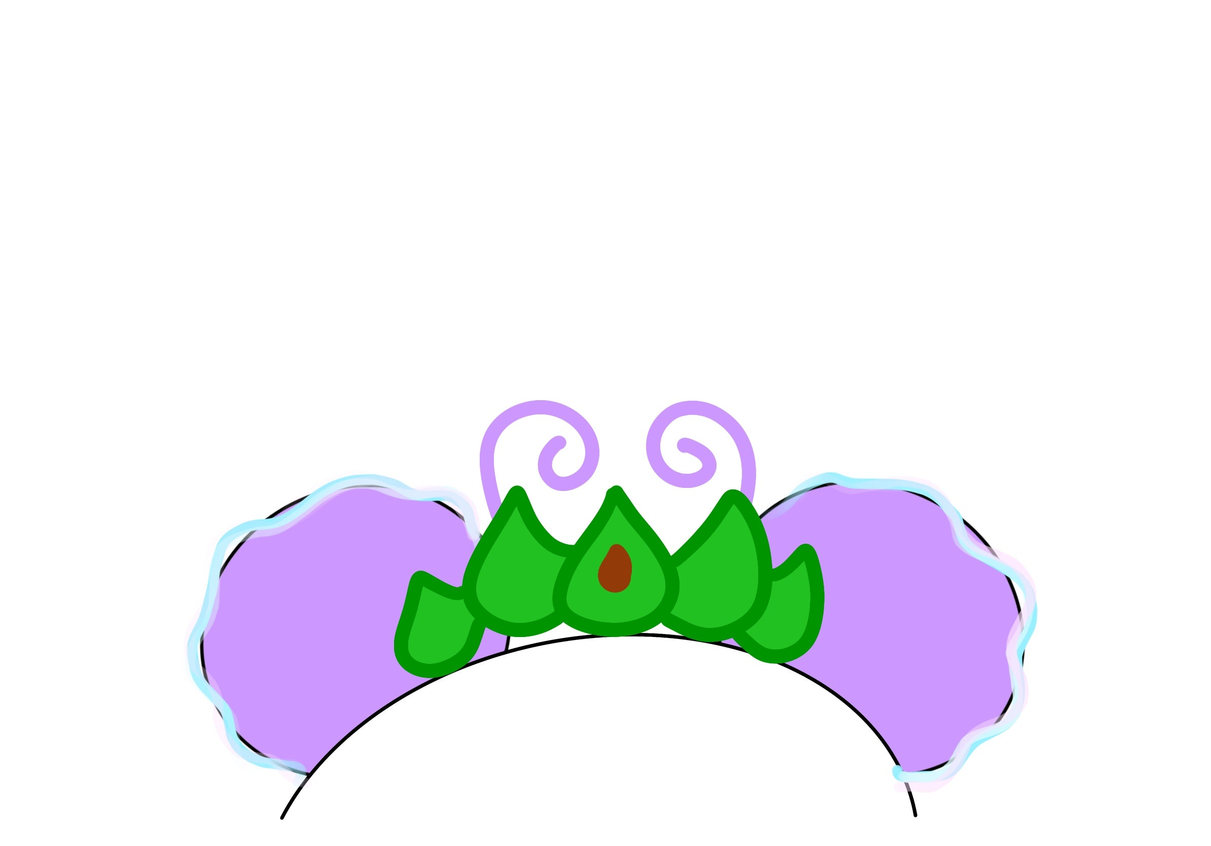 Ant Princess Crown Mock-up