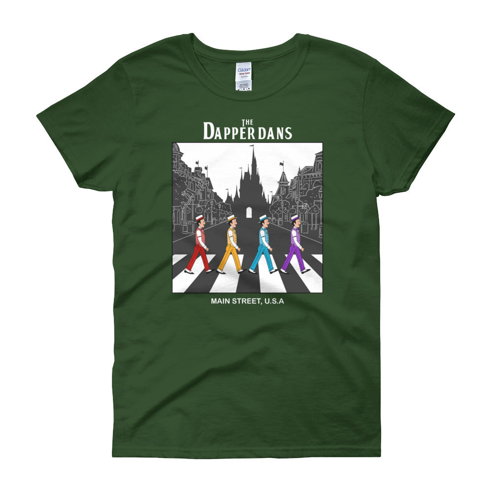 The Dapper Dans WDW Women's short sleeve t-shirt